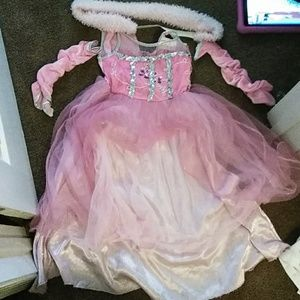 Other - Pink Princess Custom dress w/ sach and gloves!